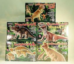 Set of 5 Pyro Dinosaur  Model Kits Reissued by Lindberg