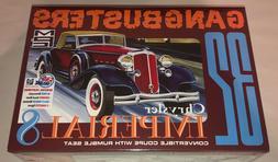 SKILL 2 MODEL KIT 1932 CHRYSLER IMPERIAL 8 & BIKE & 2 FIGURE