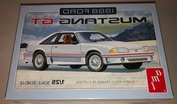 SKILL 2 MODEL KIT 1988 FORD MUSTANG GT 1/25 SCALE MODEL BY A
