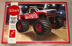 SKILL 2 MODEL KIT CHEVROLET SILVERADO MONSTER TRUCK COCA-COL