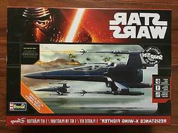 REVELL SNAP TITE STAR WARS RESISTANCE X-WING FIGHTER KIT #85