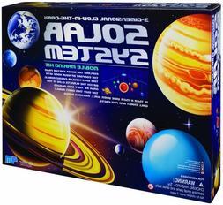 Solar System Kit Mobile Glow Dark 4M Making 3D Science Proje