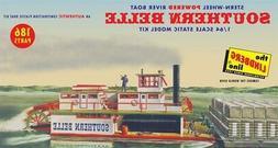 Lindberg Southern Belle Paddle Wheel Steamship model kit 1/6