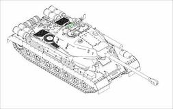 Trumpeter Soviet JS-4 Heavy Tank Model Kit 1/35 Scale