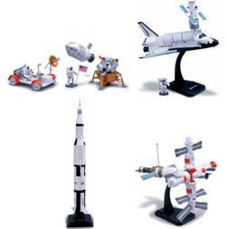 SPACE ADVENTURE NASA Model Kit Lunar Rover Rocket Space Shut