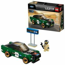 LEGO Speed Champions 1968 Ford Mustang Fastback 75884 Buildi