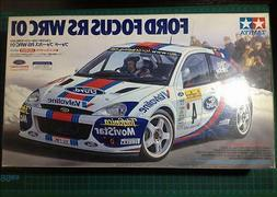 Tamiya Sport car series 1/24 Ford Focus RS WRC 2001 Model Ca