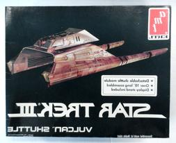 Star Trek III Vulcan Shuttle AMT ETRL Plastic Model Kit Unus
