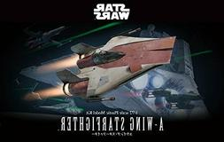 Star Wars A-Wing Starfighter 1/72 Scale Plastic Model Kit