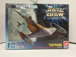 Star Wars Episode I 1999 Naboo Fighter Model Kit AMT ERTL Sn