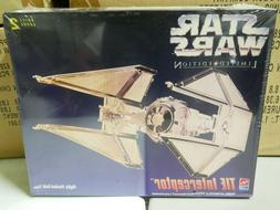 AMT Star Wars Limited Edition TIE Interceptor Gold Tone Fact