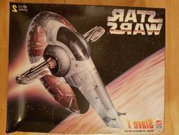 AMT Star Wars Slave 1 Model Kit #8768, New In Box, 1995!