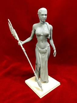 star wars slave leah fan art resin