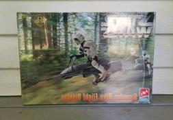 Star Wars Speeder Bike Flight Display Model Kit Level 2 New