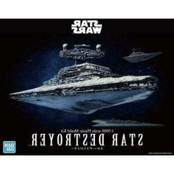 Bandai Star Wars Star Destroyer 1/5000 Scale Model Kit Hobby