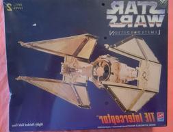 AMT  Star Wars TIE Interceptor Gold Version Limited ED. Plas