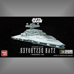 Bandai Star Wars Vehicle Model 001 Star Destroyer non scale