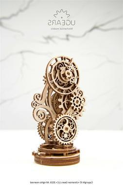 Ugears Steampunk Clock Mechanical Wooden Model KIT - 3D puzz