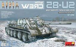 Su85 Mod 1943 Early Prod. Tank -- Plastic Model Military Veh