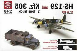 Italeri Super Model 1:48 WWII HS-129 & Kfz.305 3 Ton Truck 2