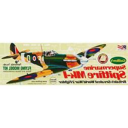 Supermarine Spitfire Laser Cut Balsa wood airplane model Gui