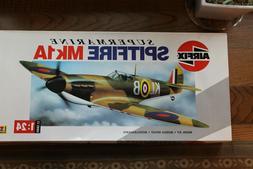 supermarine spitfire mk1a model kit 1 24