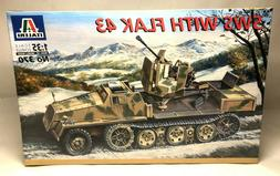 ITALERI SWS With Flak 43 1:35 Scale Plastic Model Kit No. 37