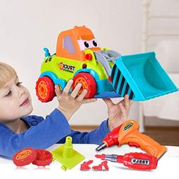 Flurries Take Apart Truck Toys Assembly Truck Toy Plastic Mo