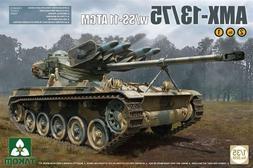 Takom 1/35 AMX-13/75 w/SS-11 ATGM French Light tank 2in1 Pla