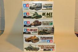 Tamiya 1/35th German, British & Russian Armor Collection 6 K