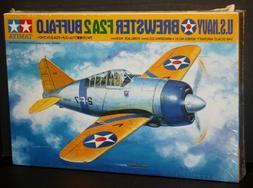 Tamiya 1/48 Brewster F2A2 Buffalo #61031 Plastic Model Kit -