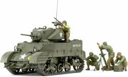 Tamiya Models Us Light Tank M5A1 W/4 Figs 1/35 TM35313