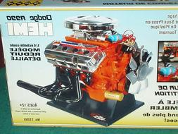 TESTORS/HAWK MOPAR DODGE PLYMOUTH HEMI ENGINE MODEL KIT 1/4