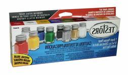 Testors Promotional Enamel Paint Set Painting Model Paints A