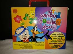 The Looney Balloon Book with Pump making modeling Kit party