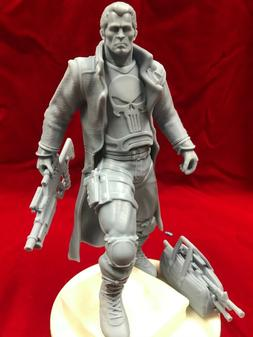 """The Punisher """"Comic"""" / Resin Figure / Model Kit-1/8 scale."""