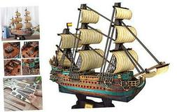"""The San Felipe Model Ship Kits 3D Puzzle 25.6"""" for Adults an"""