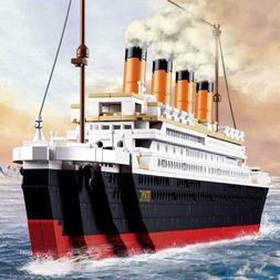 Titanic Building Blocks Ship Model Set The Kit For Kids Adul