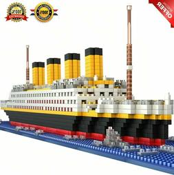 Titanic Cruise Ship model Diamond Building Blocks DIY Kit Ki