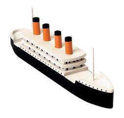 Titanic Model Kit Wood Craft Wooden Boat Ship Sailor Toy Set