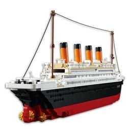 Model building kits city Titanic RMS ship 3D Building Block