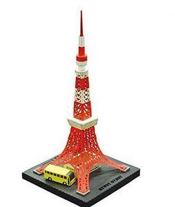 Tokyo Tower Paper Nano Kawada Laser Cut Paper Model Kit PN10