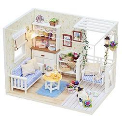 Softmusic Toys for Children Kids 3D Wooden Kitten Diary Doll