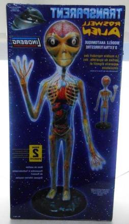 Lindberg Transparent Alien figure model kit