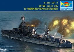 Trumpeter 1/700 06712 USS Texas BB-35 Warship plastic model