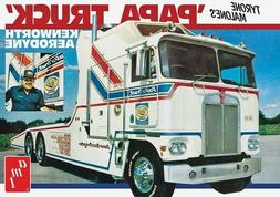 AMT Tyrone Malone Kenworth Transporter Papa Truck 1/25 model