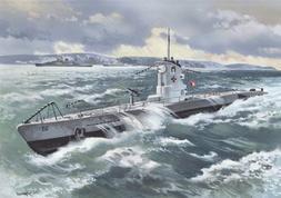 ICM Models U-Boat Type IIB 1939 German Submarine Building Ki