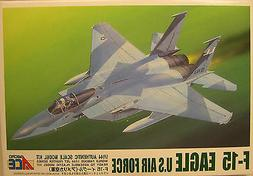 U.S.A.F. F-15 EAGLE JET FIGHTER/BOMBER MICRO ACE 1:144 SCALE
