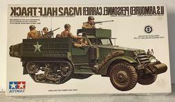 Tamiya U.S. Armoured M3A2 HALF TRACK 1/35 Model Kit #MM-170