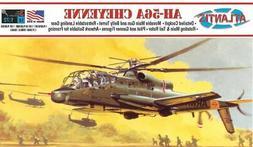 U.S. ARMY AH-56A CHEYENNE HELICOPTER ATLANTIS 1:72 PLASTIC M